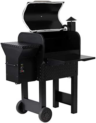 Prime Pellet Grills 81221 KC King 600 Electric Pellet Smoker, Black