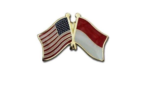 Wholesale Pack of 12 USA American El Salvador Friendship Flag Hat Cap lapel Pin
