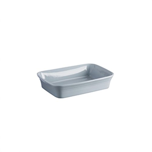 Mason Cash Classic Kitchen Stoneware Rectangular Baker Dish, 10-1/2-Inches by 7-Inches by 2-1/2-Inches, Light Blue