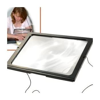 Amazon Com A4 Full Page Magnifier Hands Free 3x