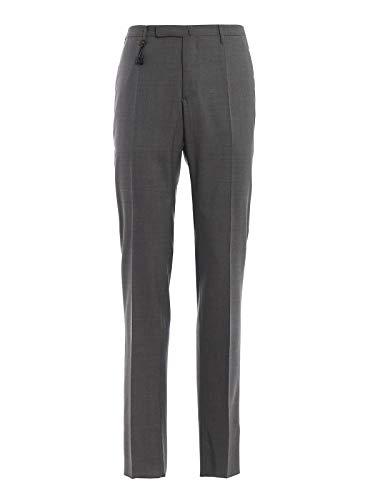 Incotex Dress Pants - Incotex Men's 1At0305855t910 Grey Wool Pants