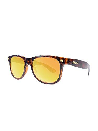 Knockaround Fort Knocks Non-Polarized Sunglasses, Glossy Tortoise Shell / - Glossy Sunglasses