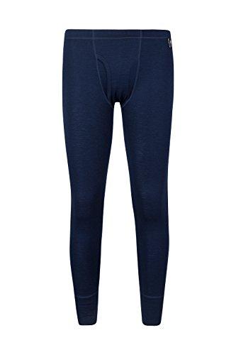 [해외]마운틴웨어 하우스 남성용 메리노 바지, 플라이 네이비 X- 스몰/Mountain Warehouse Mens Merino Pants With Fly Navy X-Small