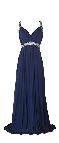 conail Coco Women's Elegant Royal Formal Dresses Wear Long Wedding Party Gowns (S, 30Navy) (Long Gown Dress)