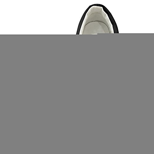 [PTCY MIB Men In Black Film Slip-on Unisex Flat Canvas Shoes Sneaker 35 Black] (Victorias Secret Costume Ideas)