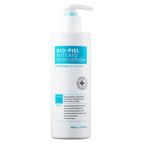 JSOOP Bio-Piel Petit Ato Body Lotion 400ml (13.53 fl.oz) / Hypoallergenic Cream Sensitive/Dry Skin Light Texture  - Lecithin Moisturizing Body Lotion