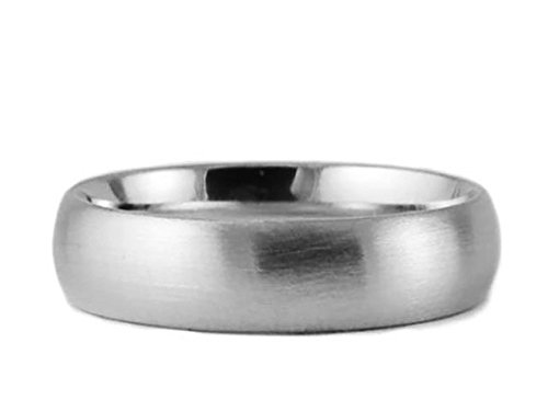 Men's & Women's Platinum 950 Brushed 7mm COMFORT FIT WEDDING BAND size 9.75 975 Wedding Bands Ring