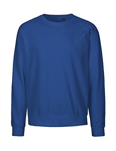 Spirit of Isis -Neutral- Sweatshirt, 100% Bio-Baumwolle. Fairtrade, Oeko-Tex und Ecolabel Zertifiziert, Textilfarbe: blau, Gr.: L