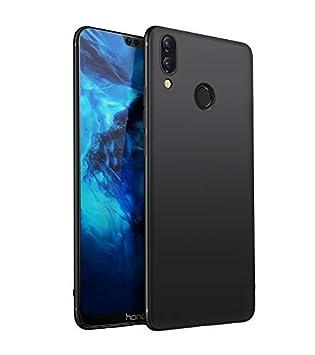 Olliwon Funda Huawei Honor 8X, Ultra Slim Silicona TPU Carcasa Anti-Arañazos y Antideslizante 360 Cover Case para Huawei Honor 8X Nergo