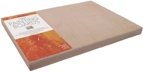 Art Advantage 18-Inch by 24-Inch Cradled Painting Panel