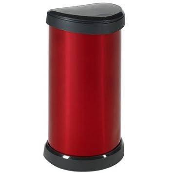 CURVER 40 litros Deco Touch Top - Cubo de Basura para Cocina ...