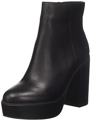 Windsor Smith Damen Peyton Kurzschaft Stiefel Schwarz (Black Loren)