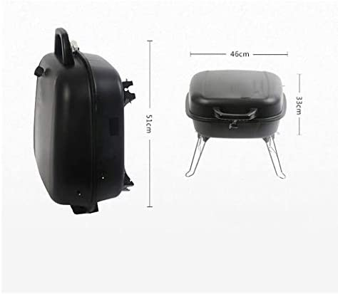 WYJBD Barbecue Shelf extérieur Barbecue au Charbon Grill Mini Portable Utilisation for 3-5 Personnes Barbecue étagère