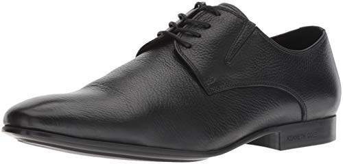 Kenneth Cole New York Men's Mix-ER Oxford, Black Tumbled Leather, 11 M US