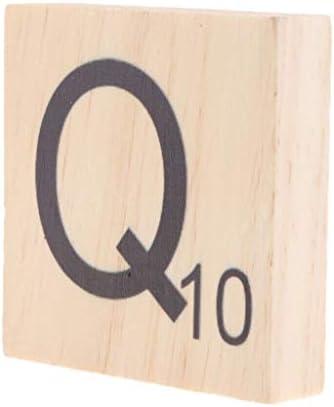 COMFORT INNOVATION Large Wooden Alphabet Puzzle Tile Block LettersNumber Craft Wood Board Q10 / COMFORT INNOVATION Large Wooden Alphabet Puzzle Tile Block LettersNumber Craft Wood Board Q10