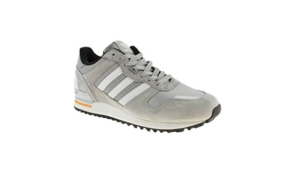 hot sale online 88872 43216 Amazon.com   Adidas Original Zx 700 Grey White Orange Mens Suede Trainers  Shoes Boots   Fashion Sneakers