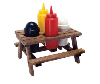 DCI Picnic Table Condiment Set, 5-Piece