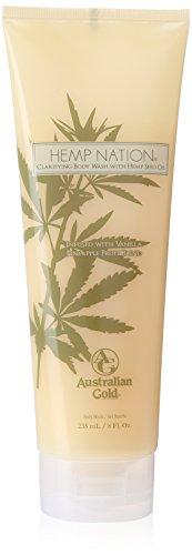 Australian Gold Hemp Natural Vanilla Pineapple Body Wash, 8 (Skin Care Australian Body Care)
