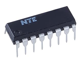 NTE Electronics NTE4026B Integrated Circuit CMOS Decade Counter/Divider, -0.5V-20V, 16-Lead DIP Package (B0080USGBC) | Amazon price tracker / tracking, Amazon price history charts, Amazon price watches, Amazon price drop alerts