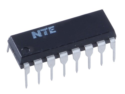 NTE Electronics NTE74LS83A Integrated Circuit TTL-Quad 2-Input Positive NOR Gate, 5.5V, 16-Lead DIP Package