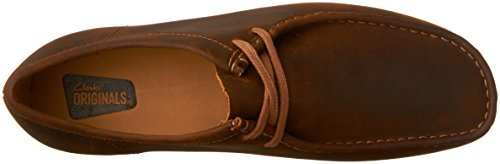 Clarks Mens Wallabee Step Mocassini Scarpe In Pelle Dapi