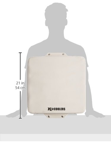 White SC30W K2 Coolers Seat Cushion for The Summit 30