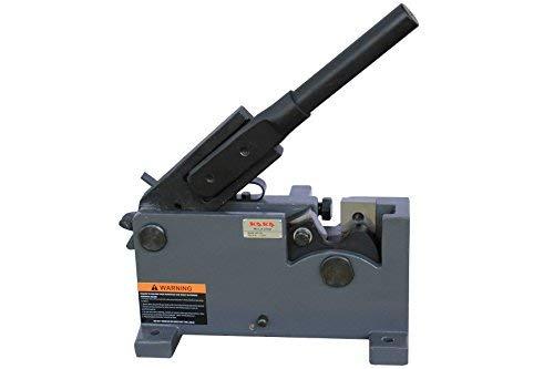 (KAKA Industrial MS-28 28mm Metal Manual Shears, Solid Construction and Versatility, Rebar, Rod Steel Cutter, Flat Bar Steel, Round Metal Cutter)