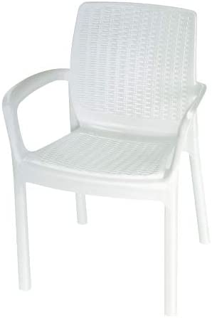 Sillon Resina 8290/1 Blanco: Amazon.es: Jardín