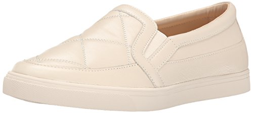 Nine West Womens Brodie Leather Brodie Leather Off White/Off White