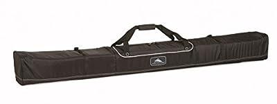 High Sierra Basic Ski Bag -Unpadded Ski Bag, Black - Large 185Cm