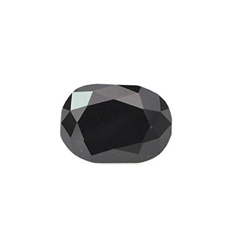 Skyjewels Black Diamond 3.05 Cts Earth Mined Cushion Cut Best AAA Quality by skyjewels