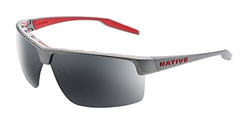 Native Eyewear Hardtop Ultra XP Sunglass, Platinum, - Sunglasses Running Top For