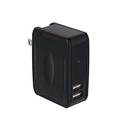 SpygearGadgets 1080P HD Motion Activated Mini USB Wall Charger Outlet Hidden Spy Camera with Night Vision | Model HC255 from SpygearGadgets
