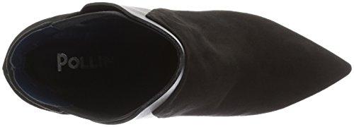 Pollini Shoes, Scarpe Col Tacco Donna Nero (Black 00a)