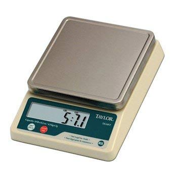 Control Digital Scale - Taylor TE10FT Precision Digital Portion Control Scale, 11 lb x .1 oz