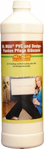 Mr.Möbi© PVC And Design-Planks Care Glossy, 1 ltr. - First care and freshening of pvc and design-planks floors