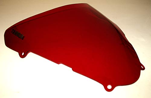 TARGA 2001-2002 Suzuki SV650S SV650 Windscreen Windshield Transparent Red Tint OEM Replacement Made in the USA 24-886TR