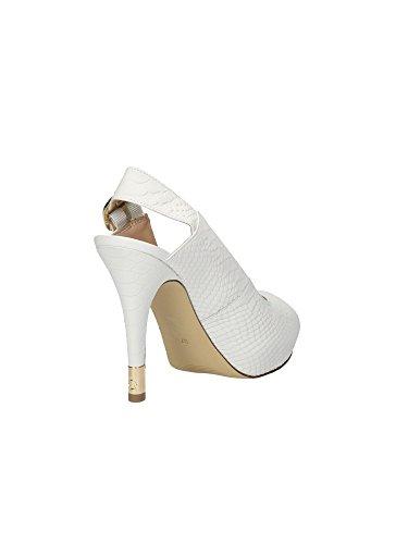 Guess - Sandalias de vestir para mujer Blanco blanco