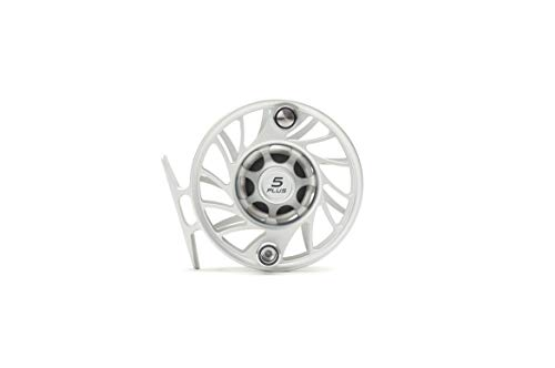 Hatch 5 Plus Gen 2 Finatic Fly Reel, Clear/Black, Mid Arbor