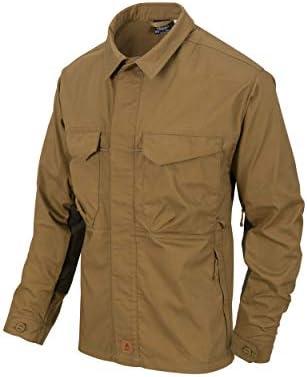 Helikon-Tex Woodsman Shirt - Coyote/Taiga Green