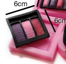 HITSAN INCOPRORATION Cake Mold Perfume Bottle Make up Makeup Kit Powder Lip Silicone Mold Fondant Tools