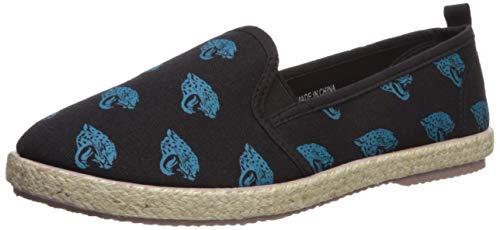 Jacksonville Jaguars Espadrille Canvas Shoe - Womens Large