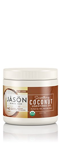 JASON Smoothing Coconut Unrefined Oil (Certified USDA Organic), 15...