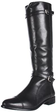 Pour La Victoire Women's Loryn Knee-High Boot, Black, 7.5 M US