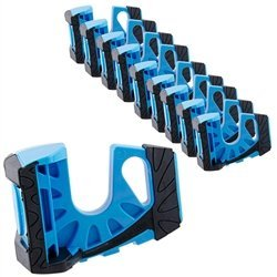 Wedge-It Ultimate Door Stop - Blue - 10-PACK