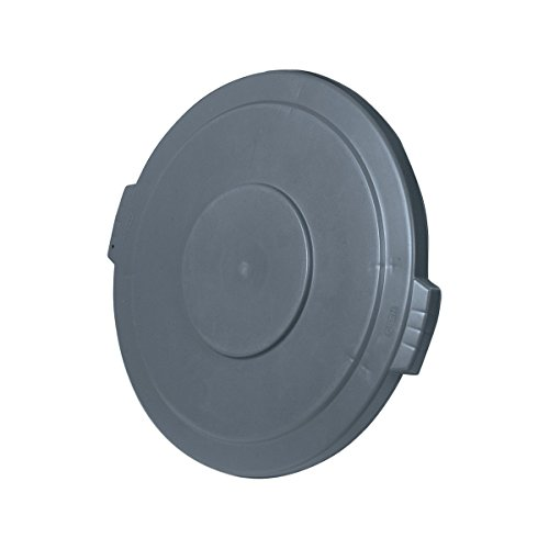 UltraSource Round Waste Container Lid, 20 gal, Grey (20 Gal Receptacle Lid)