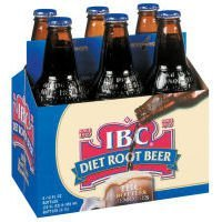 IBC Diet Root Beer, 12 Ounce (24 Glass Bottles)