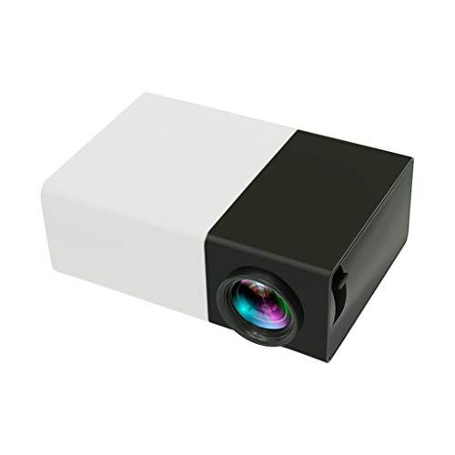 Mini proyector portátil a Color con Interfaz HDMI USB AV y Mando a ...