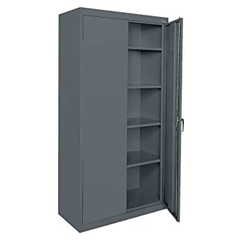 Sandusky Lee CA41361872-02 Welded Steel Classic Storage Cabinet with Adjustable Shelves 36u0026quot;  sc 1 st  Amazon.com & Amazon.com: Sandusky Lee CA41361872-02 Welded Steel Classic Storage ...