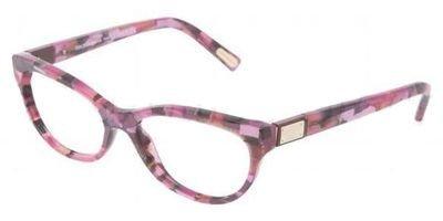 Dolce & Gabbana Logo Plaque Dg3118 Eyeglasses 1920 Pink Demo Lens 52 16 - Gabbana Logo & Dolce